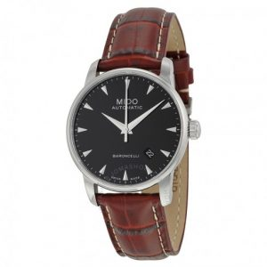 Mido Baroncelli Automatic Black Dial Men's Watch