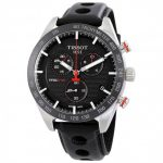Tissot PRS 516 Chronograph Black Dial Men's Watch (T100.417.16.051.00)